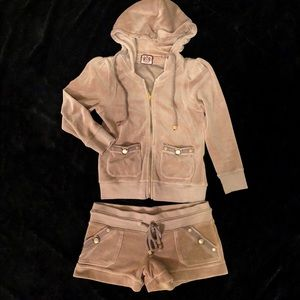 Juicy Couture Shorts & Jacket
